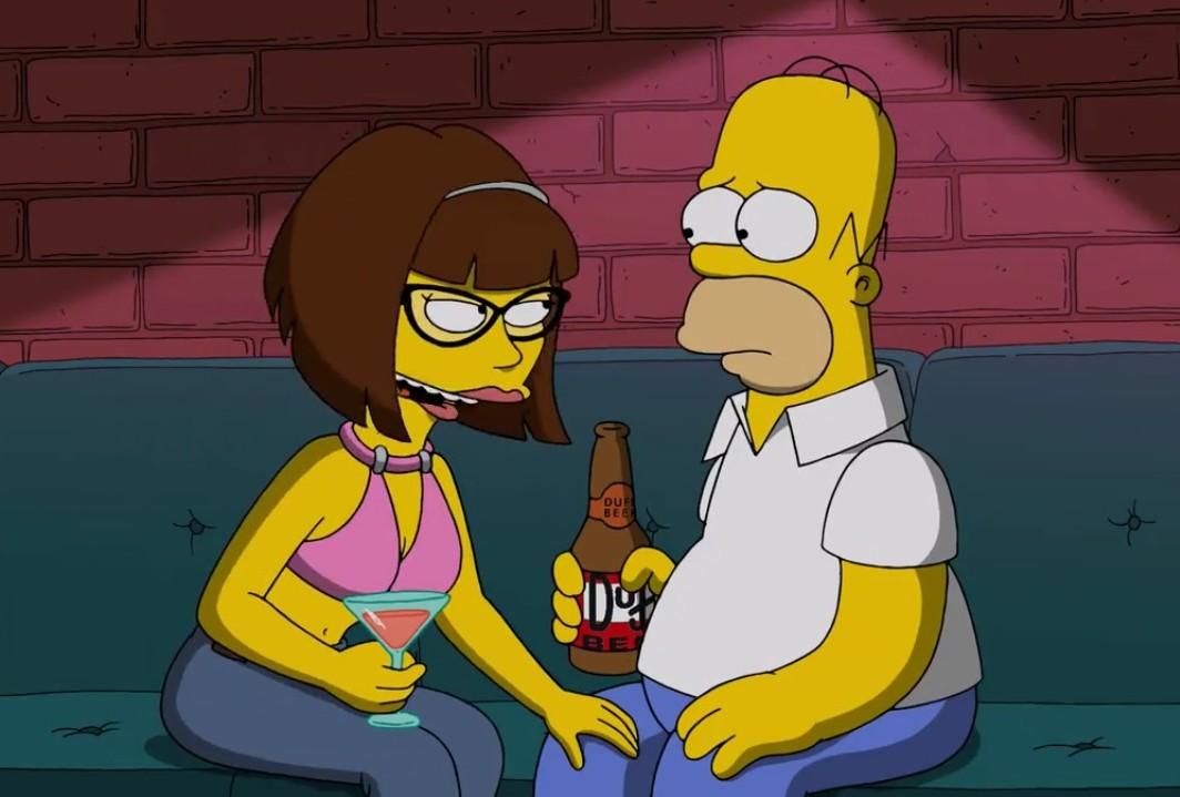 Homero cheating