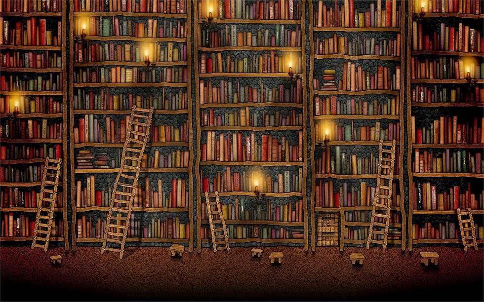 Vieja biblioteca