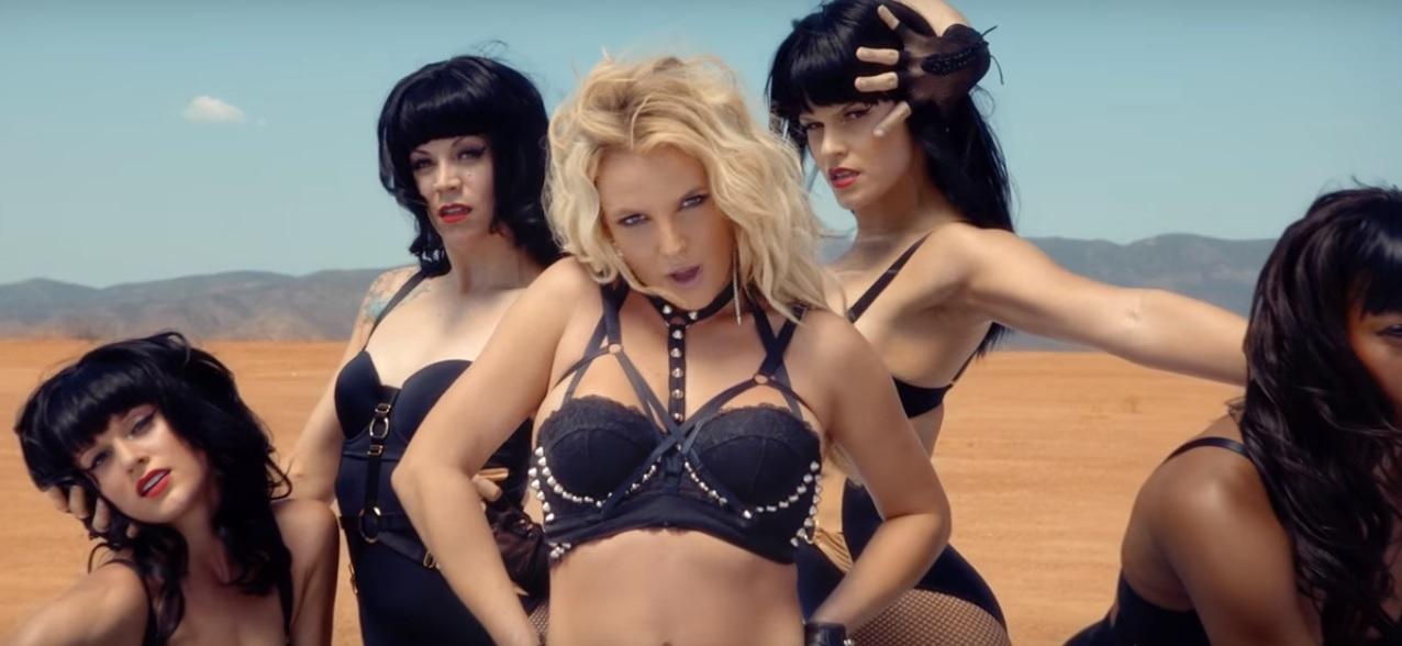 Britney Spears Work Bitch 2