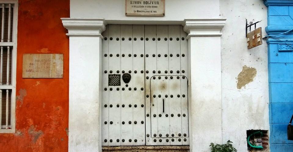 Biblioteca Bartolomé Calvo Casa de Bolívar Cartagena