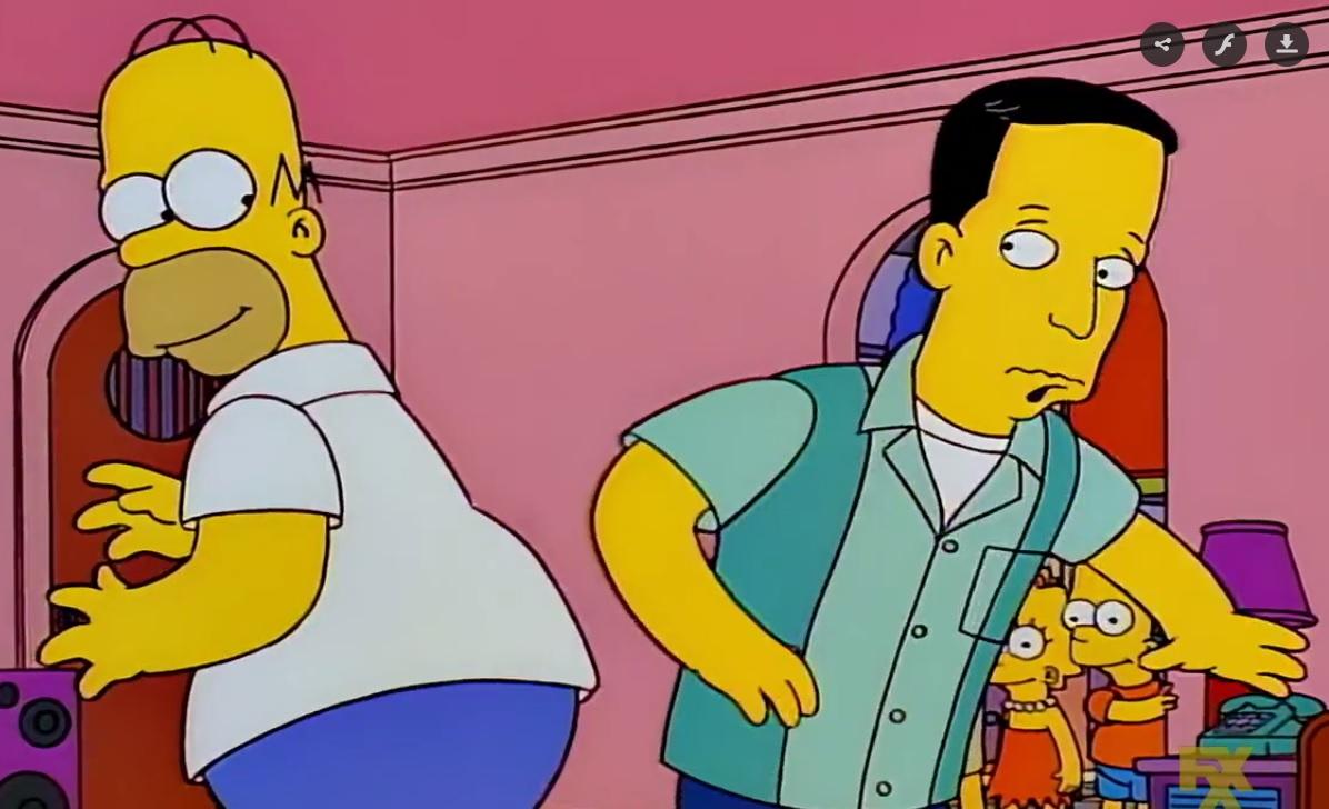 Homero y Javier