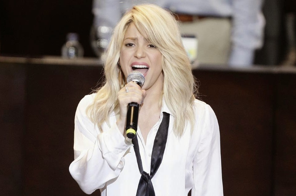 Shakira Cumbre de las américas