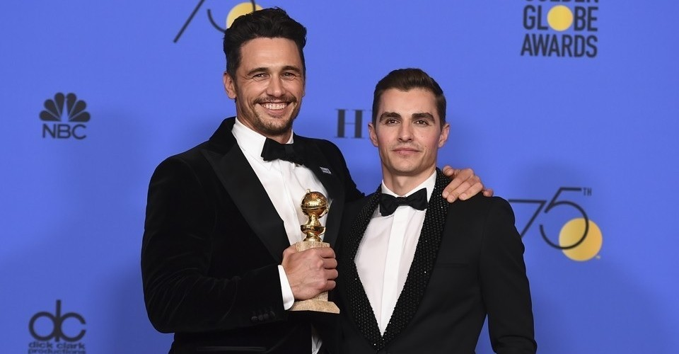 James Franco Golden Globes 2018