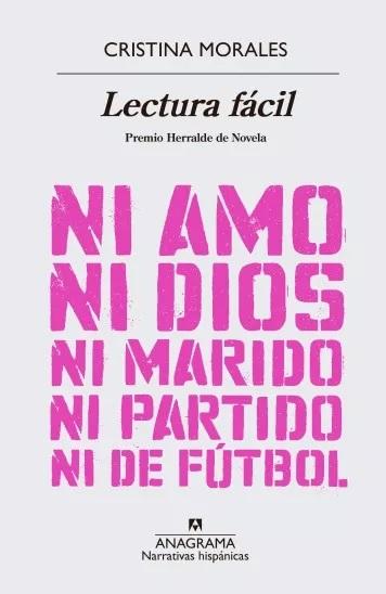 Cristina Morales-Lectura Fácil